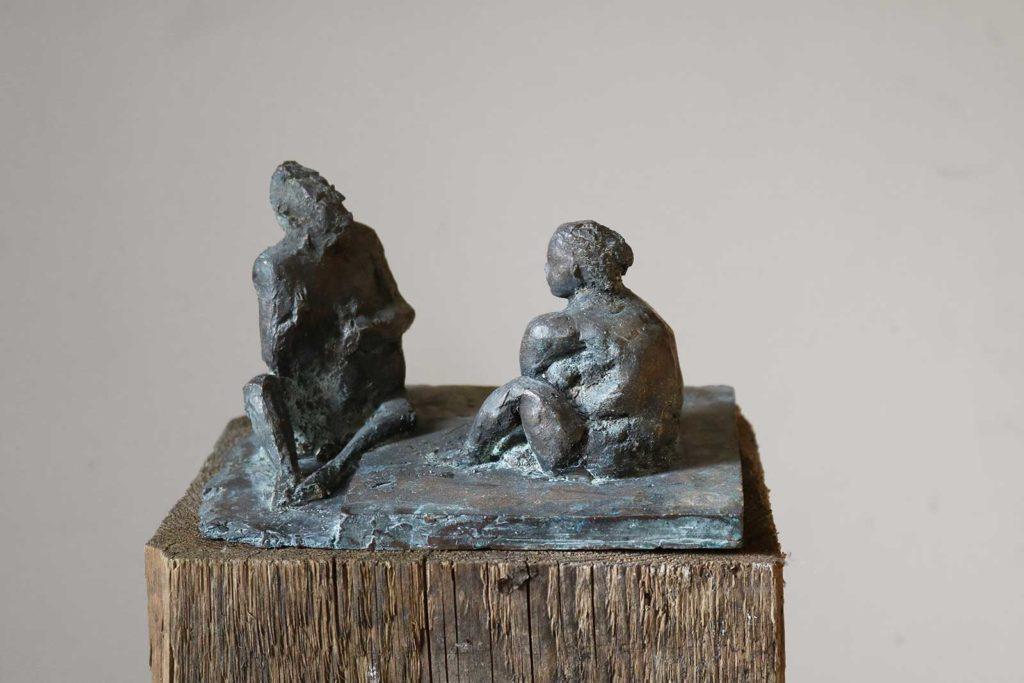 Casanova, Bronze, 10,5 x 18,5 x 15 cm