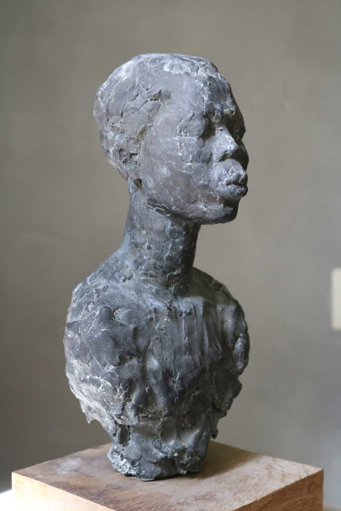 July, Bronze, 30 x 17 x 14 cm