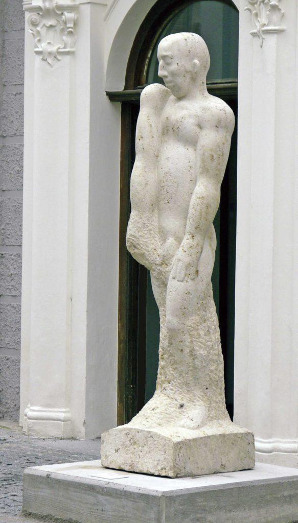 IM TRAUM, Jura-Kalkstein, 200 x 60 x 60 cm