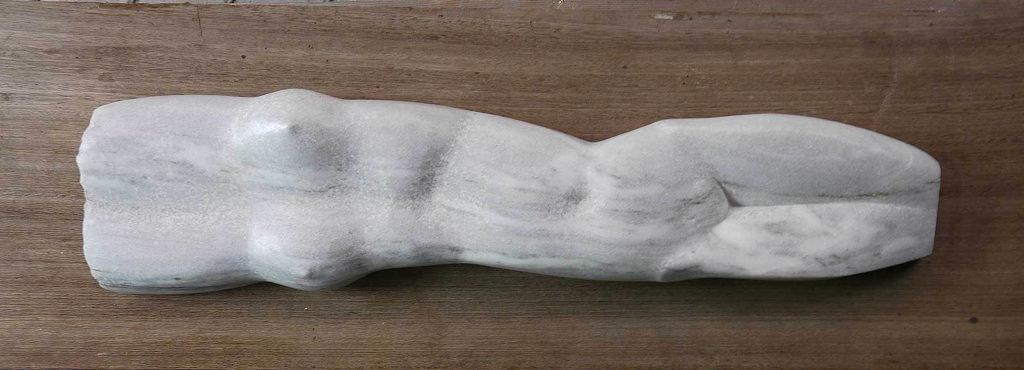 Torso Marmor, 7,5 x 78 x 20 cm
